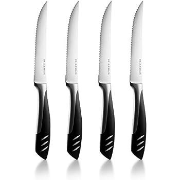 Bellemain Stainless Steel 4-Piece Steak Knife Set
