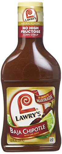 Lawry's Baja Chipotle 30 Minute Marinade (Pack of 2) 12 oz Bottles