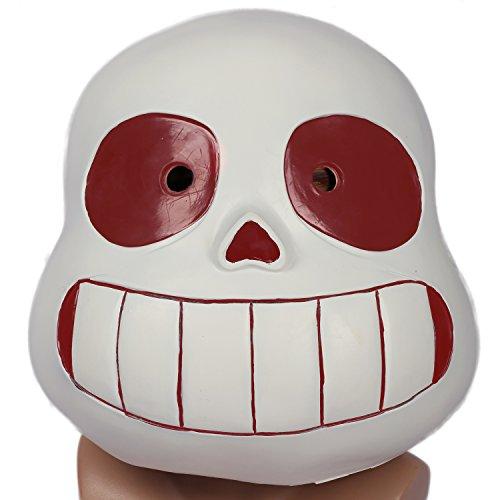 CosplayRim Undertale Sans Mask Soft Resin Full Head