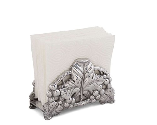 Arthur Court Grape 6-Inch Napkin Holder (Grape Holder)