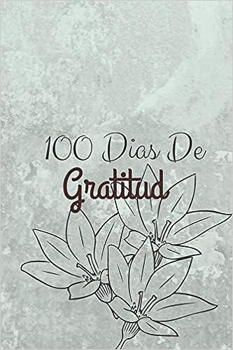 100 Dias De Gratitud: Diario De Gratitud 120 Paginas de ...