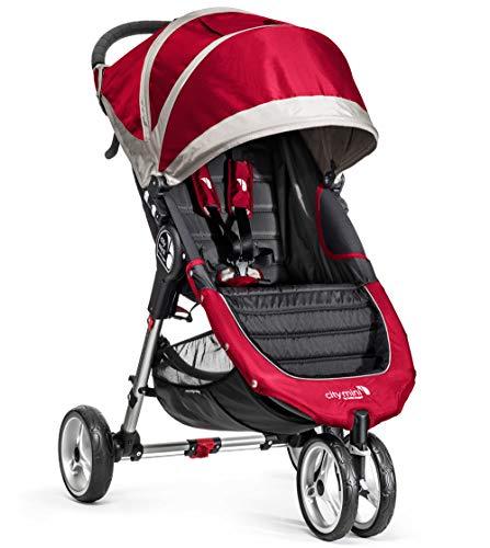 Baby Jogger City Mini Stroller In Red, Gray Frame