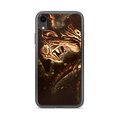 iPhone XR Case Anti-Scratch Motion Picture Transparent Cases Cover Freddy Movies Video Film Crystal Clear]()