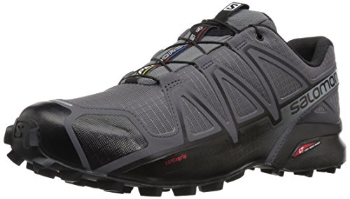 Salomon Herren Speedcross 4 Wide Trail Laufschuh Dunkle Wolke