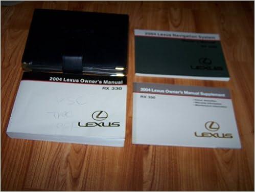 2004 lexus rx 330 owners manual lexus amazon books fandeluxe Choice Image