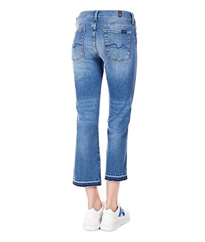 Jeans Jsyru580bublu For Blu Cotone All 7 Mankind Donna avztwqH