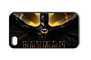 Batman Movie Iphone 4/4S Black Sides Hard Shell Case by eeMuse
