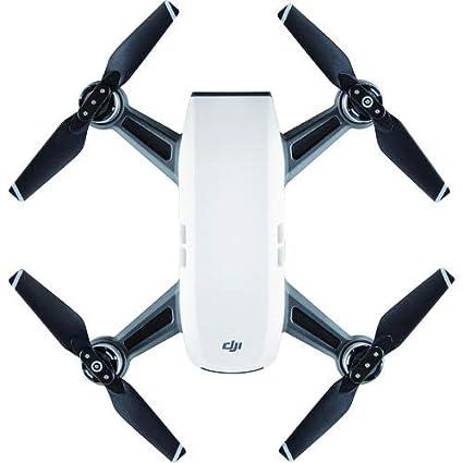 Dji Spark Drone >> Amazon Com Dji Spark Portable Mini Drone Alpine White Camera Photo