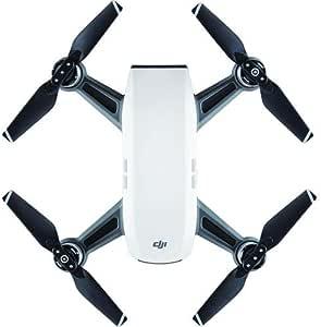 DJI Spark, Portable Mini Drone, Alpine White