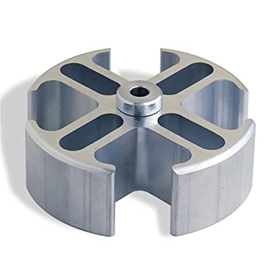 "Flex-a-lite 872 Mill Finish 1"" Spacer Adapter w/ 3/4"" Female pilot: Automotive"