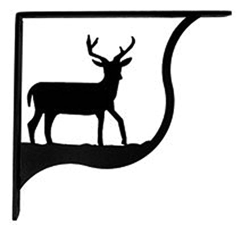 Iron Deer Shelf Brackets Square Shelf Support 6
