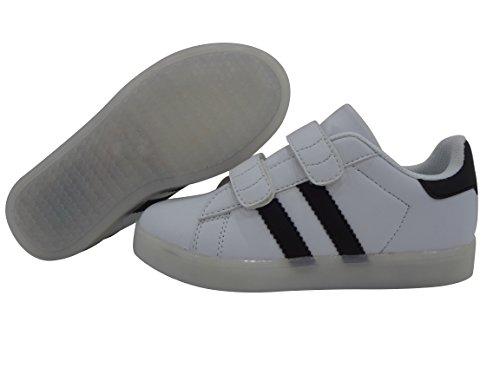 DAYOUT - Zapatillas de running de poliuretano para niño blanco blanco 31,5 EU Niño