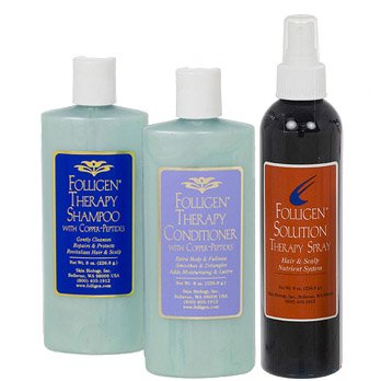 Folligen Shampoo Conditioner Therapy Spray product image