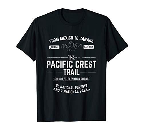 - PCT Pacific Crest Trail TSHIRT Gift Thru-Hiker