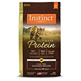 Instinct Ultimate Protein Grain Free Cage Free Chicken Recipe Natural Dry Cat Food by Nature's Variety, 4 lb. Bag Larger Image