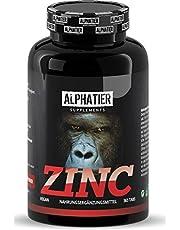 Zink tabletter hög dos + vegan - 365 zink tabletter 25 mg - Zinkkelat utan tillsatser/magnesiumstearat - Elementär zink - Zink tabletter - Fitness + Bodybuilding