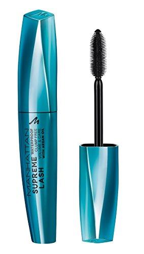 Manhattan Mascara Supreme Lash Mascara Waterproof, Farbe 1010N, black, 1er Pack (1 x 11 ml)