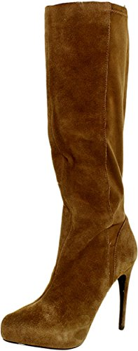 Charles By Charles David Women's Farrah Boot, Taupe, 6 M US