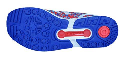 Weave para ZX Zapatillas Azul Flux Adidas Hombre wAvZ6SS