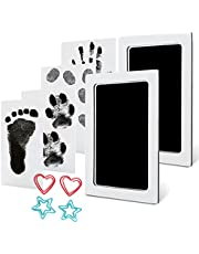 Baby Handprint and Footprint Ink Kits Pads 2 Pack Medium Size Pet Paw Print Ink Kits for Babies and Pets