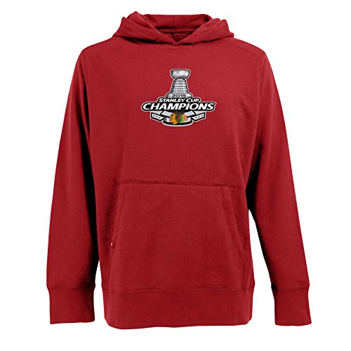 - Chicago Blackhawks 2015 Stanely Cup Champions Signature Hoodie (Red, 2X-large)