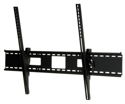Peerless Industries ST680 SmartMount Universal Tilt Wall Mount - Mounting kit ( wall plate, tilt bracket, security fasteners ) for flat panel - black - screen size: 61 inch - 102 inch