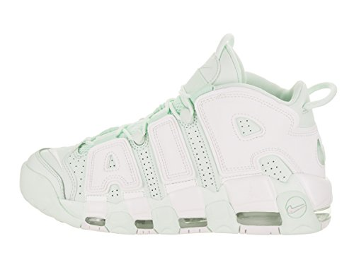 917593 Uptempo Leather Shoes More Bianco Green E AIR Nike AIR Verde in WMNS 001 Iw46a6qz