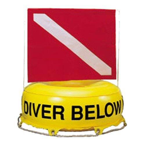 - Trident Inflatable Diver Below with Standard Dive Flag