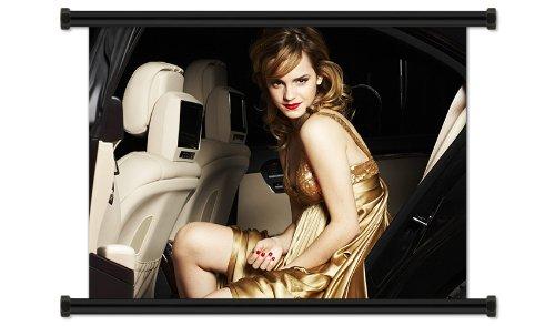 Emma Watson Sexy Hot Fabric Wall Scroll Poster (32