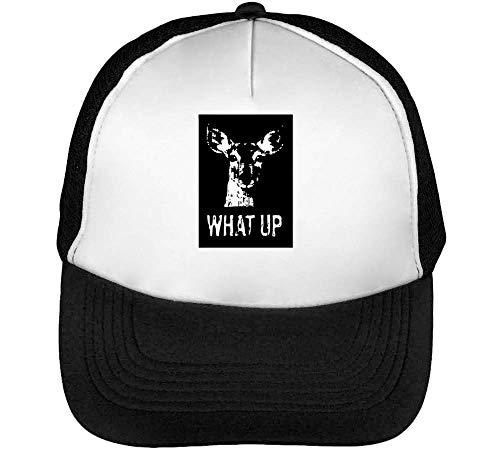 What Snapback Gorras Roe Hombre Up Blanco Deer Negro Beisbol 6Rxrn6Xw5q