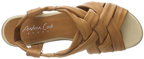 Andrea Heels Brown Cognac 1673429 Conti 062 Women's Sandals rAqrp7w