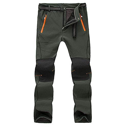 Shirt Twill Blue Wrangler (2019 Latest Hot Style! Teresamoon Men Couple Waterproof Windproof Outdoor Hiking Warm Winter Thick Pants Trousers)
