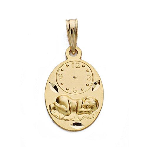 18k médaille d'or montre nino 19mm. [AA0577]