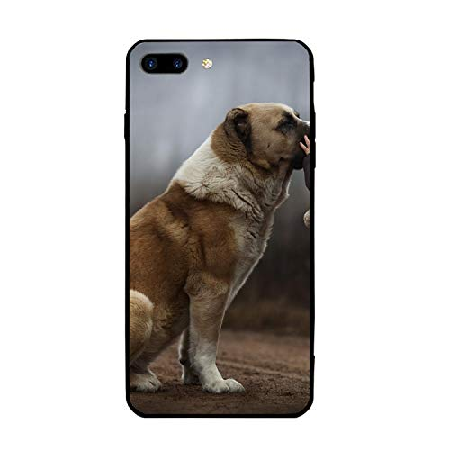 iPhone 7/8 Plus Case Ultra-Thin Shockproof Rubber Cover Compatible for iPhone 7/8 Plus Sweet Dog