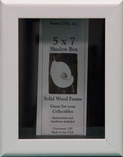 - 5x7 Shadow Box Wood Frame 2 1/8
