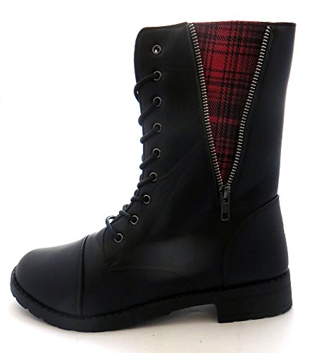 Womens Combat Lace Up Boots product image