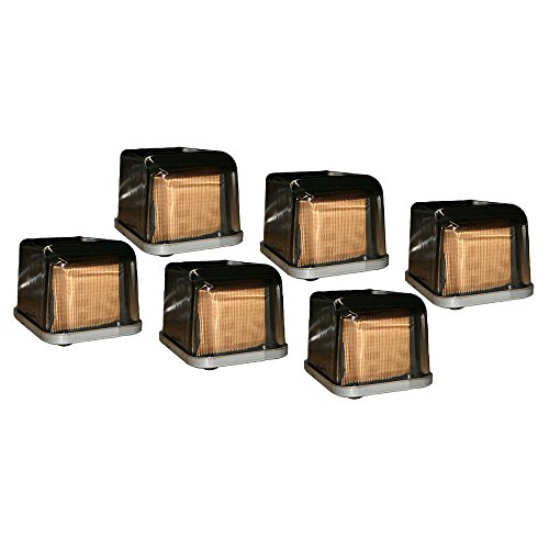 AR50041 (6) Glass Box Fuel Filter For John Deere 4020 4320 4430 4520 4630 ++