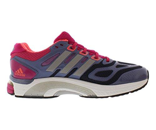 e5e83b13c1838 adidas Running Women s Supernova Sequence 6 W Urban Sky Metallic Silver Blast  Pink 10 B - Medium