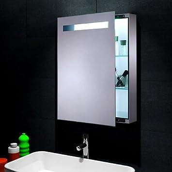 Design spiegelschrank  Lux-aqua Design Spiegelschrank mit LED Beleuchtung Wandspiegel ...