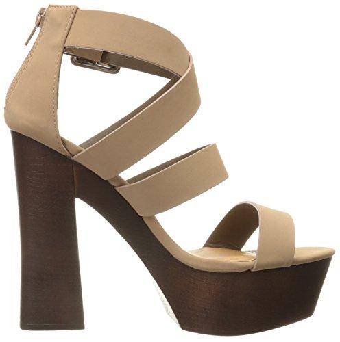 Qupid Taupe Sandal Platform 20 Women Framey wCzqwAH
