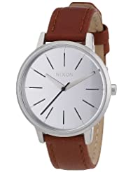 Nixon Kensington Brown Leather Strap Mens Watch A108747