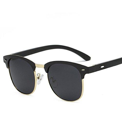 Aoligei Aluminium-magnésium Polarized lunettes de soleil pour hommes et femmes miroir côté conducteur A