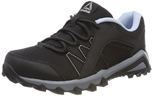 Reebok WoMen Trailgrip 6.0 Fitness Shoes Black (Black/Asteroid Dust/Ash Grey/Fresh Blue)