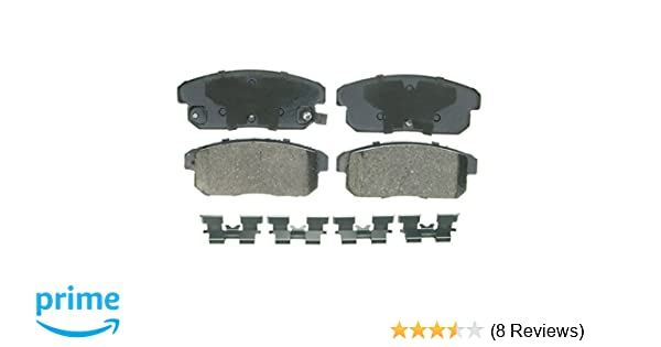 Wagner QuickStop ZD462 Ceramic Disc Pad Set Front