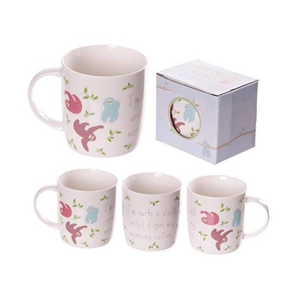 Gifts Xmas New Year Mug178 Bone China Fun Sloth Design Mug -
