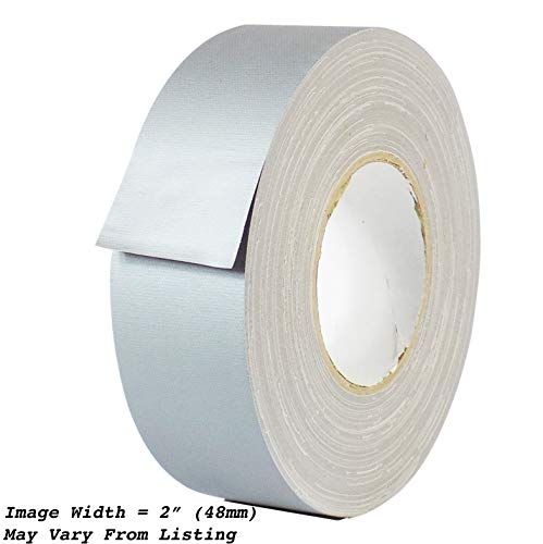 (MAT Gaffer Tape Gray Low Gloss Finish Film - 3 in. x 60 Yards - Residue Free, Non Reflective, Better Than Duct Tape (Available in Multiple Colors))