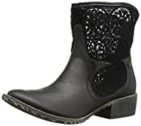 Groove Women's Daisy Boot, Black, 6 M US