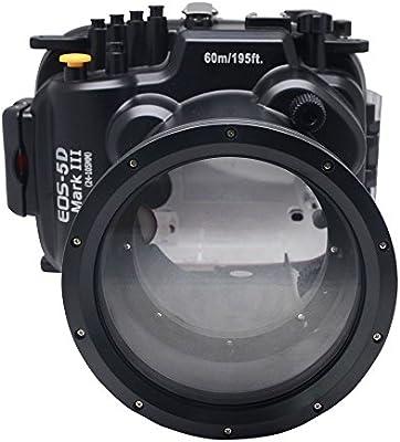 Mcoplus - Funda Impermeable para cámara Canon 5D Mark III 5D3 ...