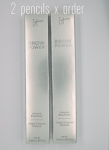 It Cosmetics Brow Power Universal Brow Pencil, 2 Pack