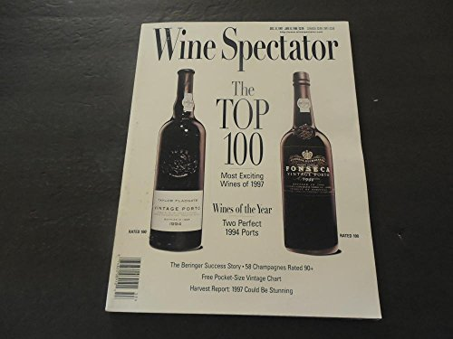 Wine Spectator Dec 31 1997 Top 100 Wines Of 1997; Two Perfect Ports
